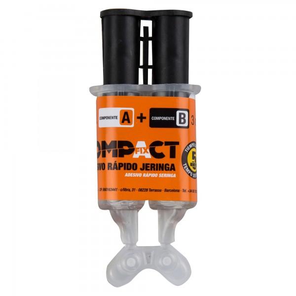 Adhesivo epoxi compact  3ml+3ml. jeringa