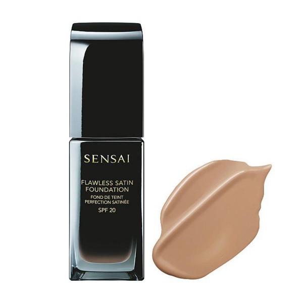 Kanebo sensai flawless satin foundation fs203 neutral beige