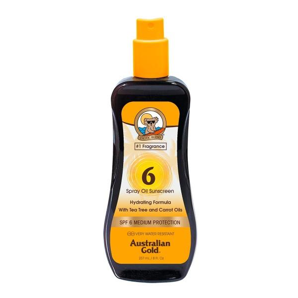 Australian gold spf6 carrot spray oil 237ml vaporizador