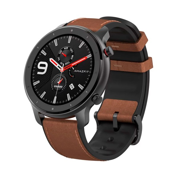 Xiaomi amazfit gtr smartwatch alluminium alloy 1.39'' 47.2mm amoled gps bluetooth 24h de autonomía
