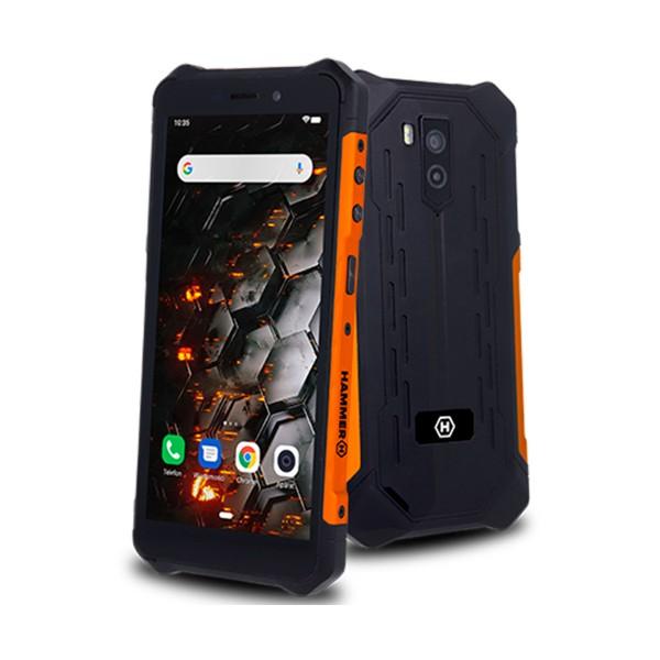 Myphone hammer iron 3 lte negro naranja móvil 4g resistente ip68 dual sim 5.45'' ips hd/8core/32gb/3gb ram/13mp/5mp