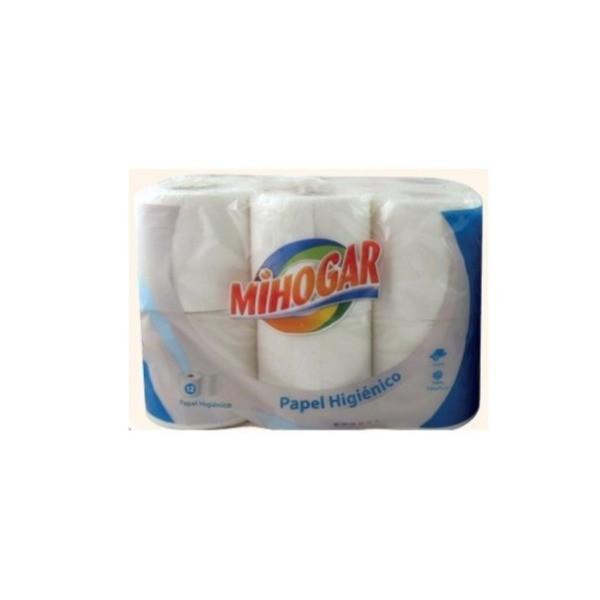 MIHOGAR Papel Higienico bicapa 12Rollos