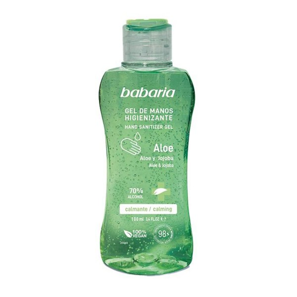 Babaria aloe gel de manos higienizante 70% alcohol 500ml