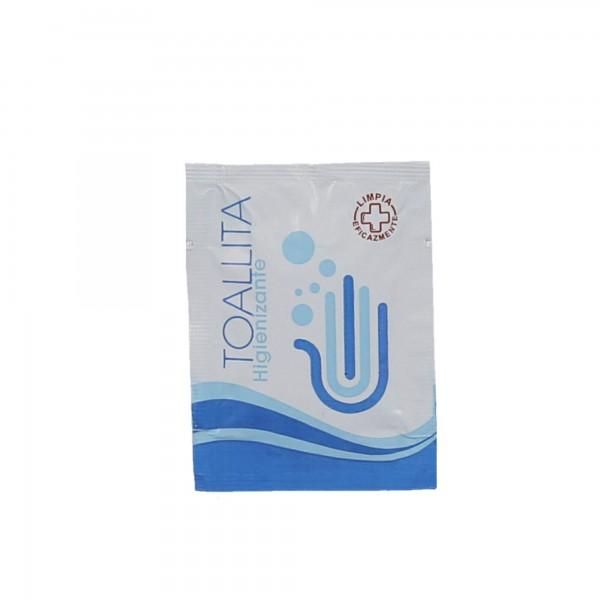 Toallita monodosis higienizantes 3gr. 250 uds.