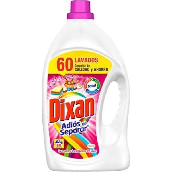 Dixan detergente Adiós al Separar 60 dosis PACK AHORRO