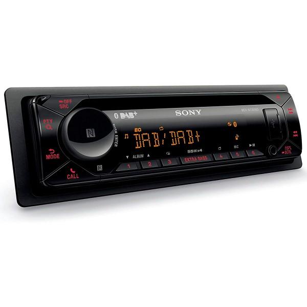 Sony mexn7300bd receptor multimedia 4x55w con radio dab usb bluetooth para el coche