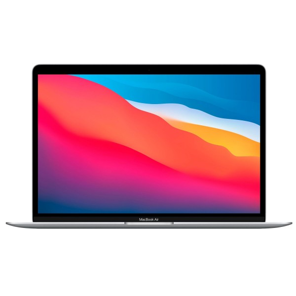 "Apple macbook air silver/m1 8 núcleos/8+512 gb/13.3"" retina ips led"