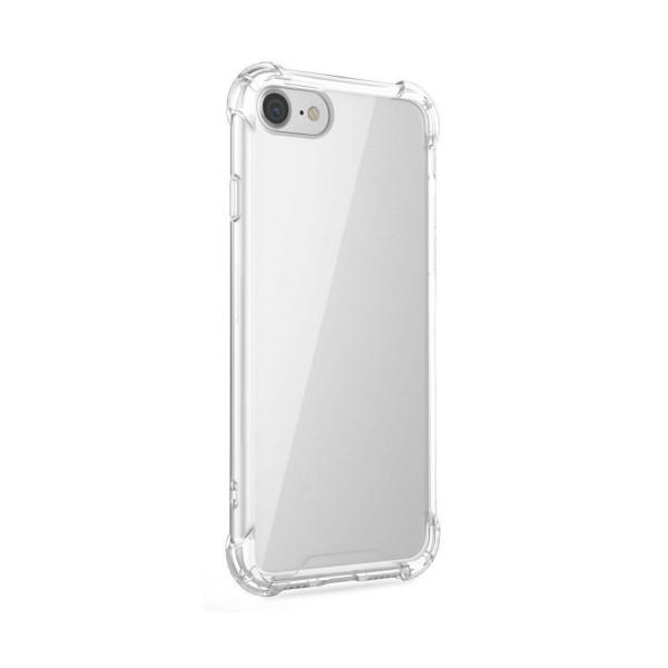 Jc funda antishock premium silicona transparente para iphone xr