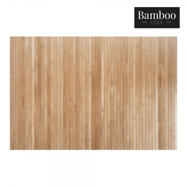 Alfombra bambú natur 60x90cm